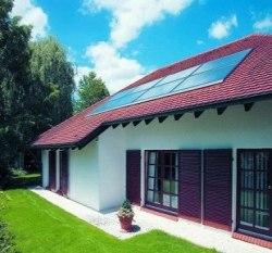 """Kolektory słoneczne, czyli popularnie zwane """"solary"""" renomowanej firmy Weishaupt"""